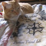 Pico consented to pose with my book.