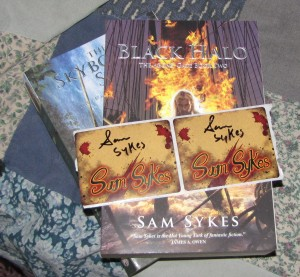 Sam Sykes books for my man.