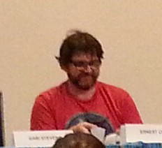 Ernest Cline on the Pop! Culture Influences panel, Bubonicon 2014