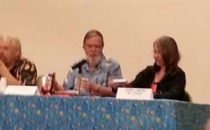 Walter Jon Williams, T. Jackson King, and Laura Mixon